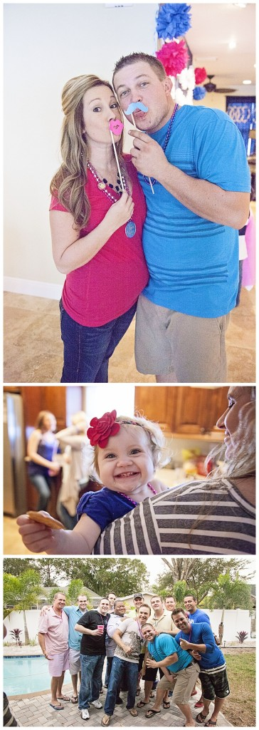 mom and dad gender reveal