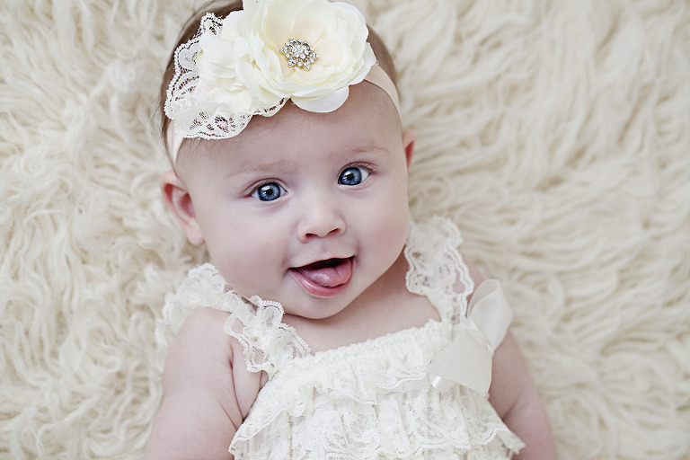 Smiles from 5 month old Avalee