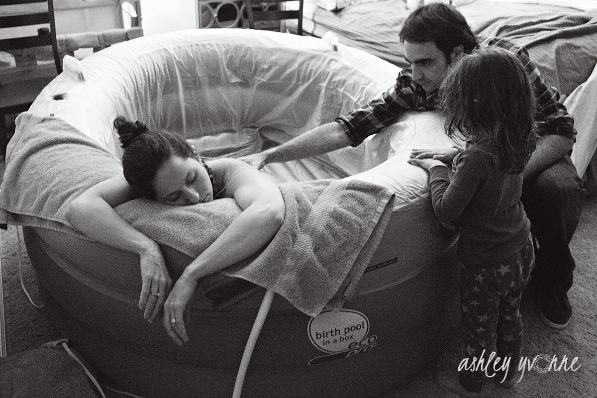 home birthing tub